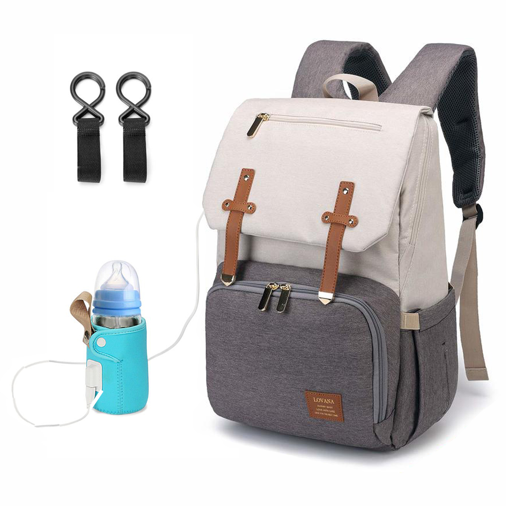 Famicare 2019 Diaper Bag Backpack With Usb Bottle Warmer Amp Phone Charger Orbisify