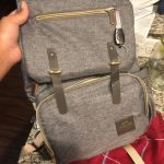 Famicare Diaper Bag Backpack with USB Bottle Warmer & Phone Charger