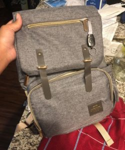 Machine Bird Diaper Bag Backpack with USB Bottle Warmer & Phone Charger photo review
