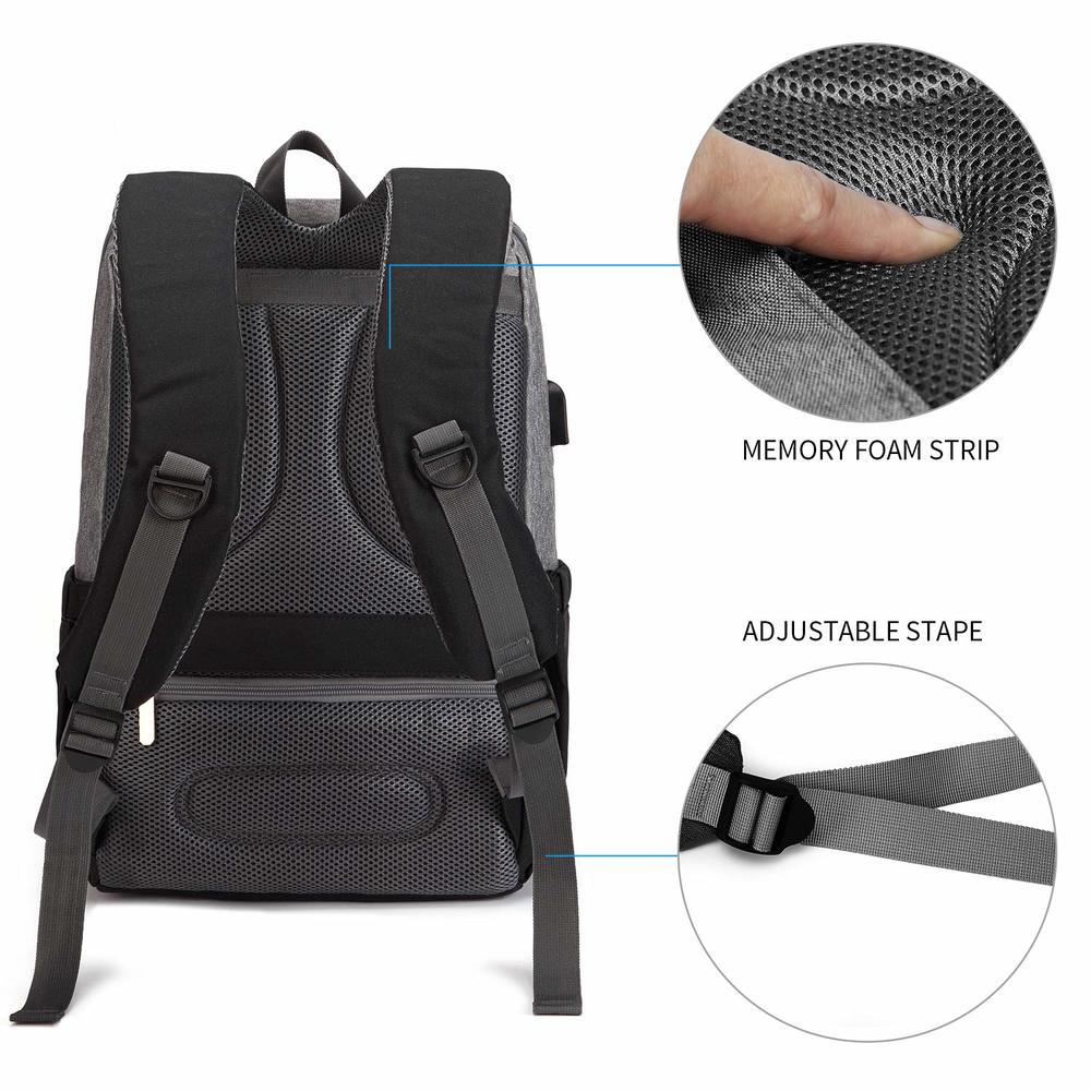 Famicare 2019 Diaper Bag Backpack with USB Bottle Warmer