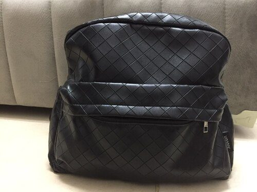 Plaited Leather Diaper Baby Bag photo review