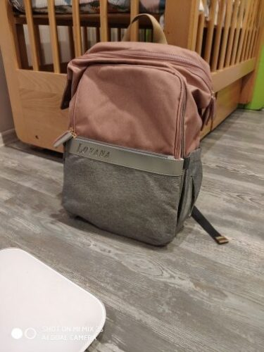 Machine Bird Diaper Bag Backpack with Bottle Warmer photo review
