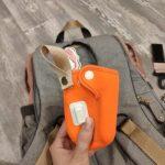 Machine Bird Diaper Bag Backpack with Bottle Warmer & Stroller Straps