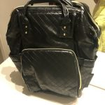 Soboba Plaited Leather Diaper Bag Backpack photo review