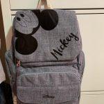 Disney Mickey & Minnie Diaper Bag Backpack