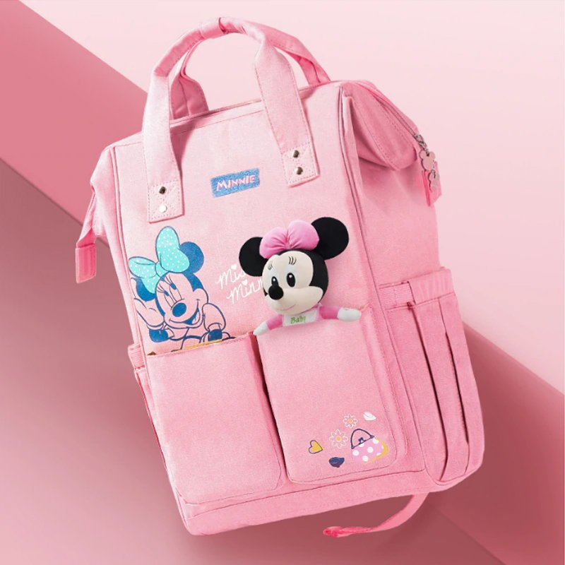 Disney - Winnie the Pooh Pinstriped Diaper Bag, Blue ...  Winnie The Pooh Baby Bag