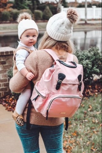 Diaper Bag Backpack Stylish Multi-Function Travel Baby Bag photo review