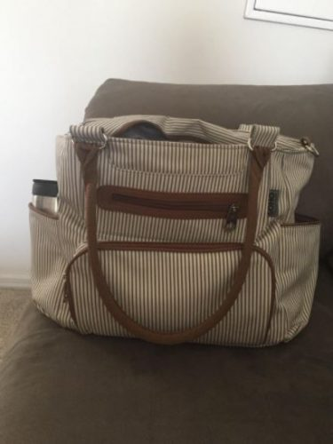 Soho Baby Diaper Bag with Changing Pad, Clothing Bag, Bottle Bag, Coin Purse, Small Bag & Stroller Straps photo review