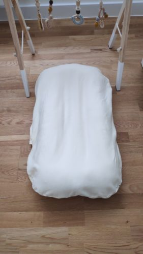 Portable Pillow Lounger Baby Bed photo review