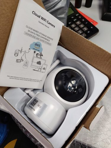 Orbisify Baby Monitor HD 1080P Wireless with Two Way Talk, Nightvision & Security Camera photo review