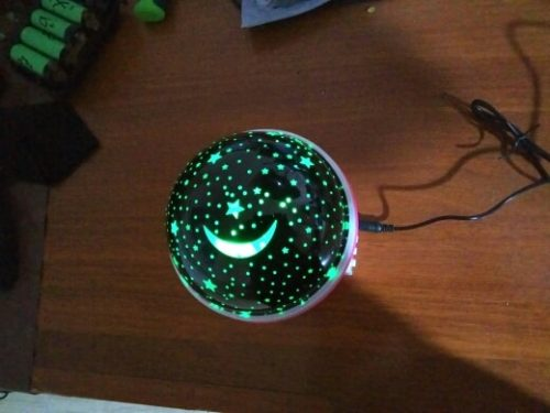 Star Night Light Projector for Kids Room photo review