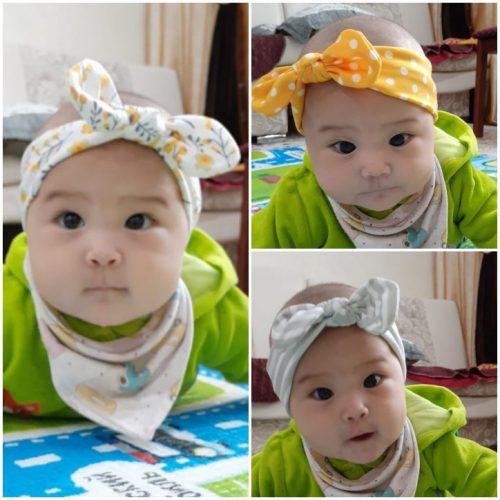 Handmade Baby Girl Headband Bows 3 Pack photo review