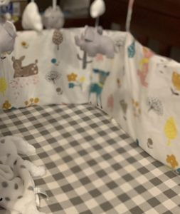 Baby Safe Crib Bumpers Cartoon photo review