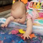 Tummy Time Mat Baby Water Play Mat photo review