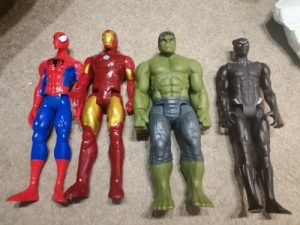Marvel Super Heroes Toys Figure photo review