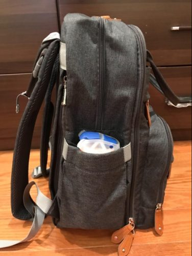 Baby Diaper Bag Backpack with Laptop Compartment, USB Port & Changing Pad photo review