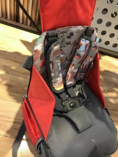 Baby Folding Diaper Bag 3 in 1 Multifunctional Dining Chair photo review