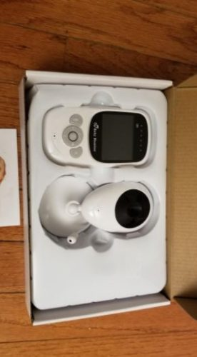 Baby Monitor 1080P Mini IP Camera, Temperature Monitoring, WiFi & Built-in Lullaby photo review
