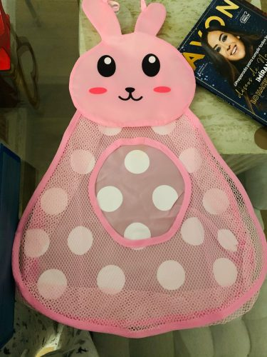 Baby Bath Toys Organizer Storage Pocket Anti-Slip Suction Cups photo review