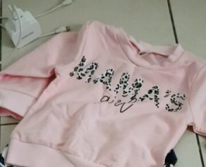 "Baby ""Mama's Girl"" Long Sleeve Sweatshirt photo review"