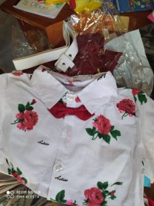 Baby Clothes Set Summer Classis Roses photo review