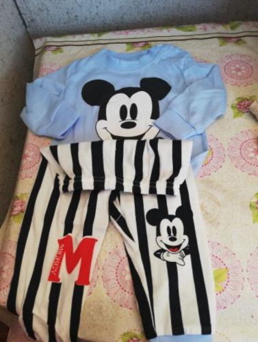 Baby Disney Pajamas Clothes Winter Set photo review