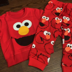 Baby Children Elmo Trousers & Hoodie Set photo review