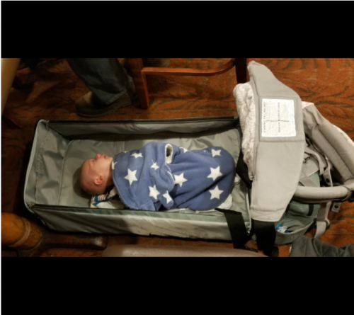 3 In 1 Diaper Bag Backpack Expantable With USB Charger photo review