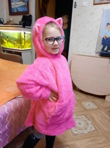 Hoodie Blanket Pet Shaped For Kids photo review