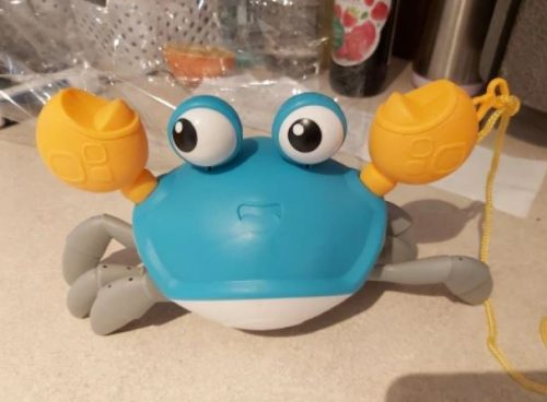 Water Crab Clockwork Bath Toys For Baby Shower photo review