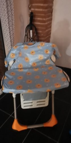 Baby Bib One-Piece Long Sleeve Waterproof Table Cover photo review