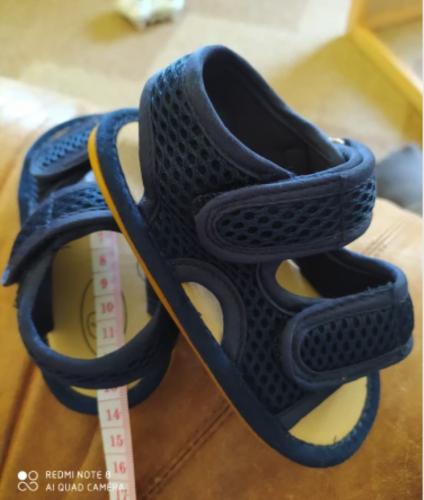 Baby Universal Sandals Premium Soft Anti-Slip Rubber Sole photo review
