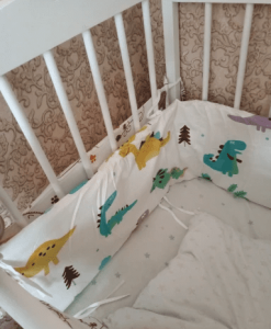 Baby Safe Crib Bumpers Cars Design photo review
