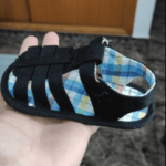 Baby Summer Sandals Soft Breathable Anti-slip Rubber Sole photo review