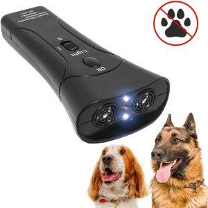 Pet Dog Repeller Anti Barking LED Ultrasonic Training Device