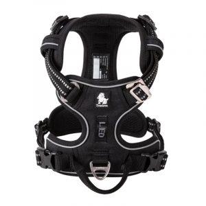 No Pull Dog Harness Solid Color Vest Reflective Soft
