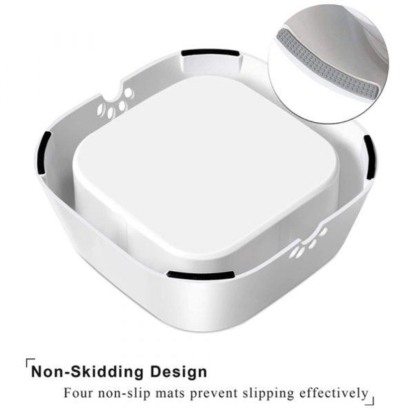 Pet Water Bowl Floating Disk Splash-Free Non-Wetting Mouth Slow Feeder