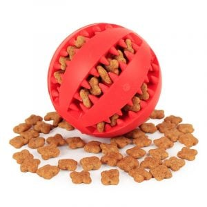 Dog Ball Toys Aduck Durable Training Ball & Chewers Teething Cleaning