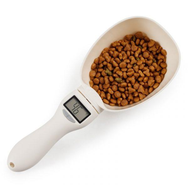 Pets Spoon Digital Measuring Scoop Cup Food Bowl Led Display