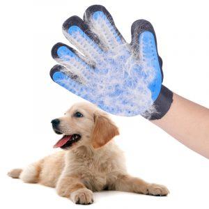 Pet Grooming Glove Deshedding Brush & Pet Hair Remover
