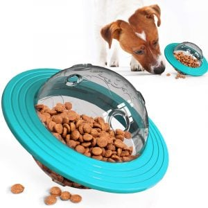 Interactive Dog Toy Food Dispensing IQ Treat Ball Puzzle