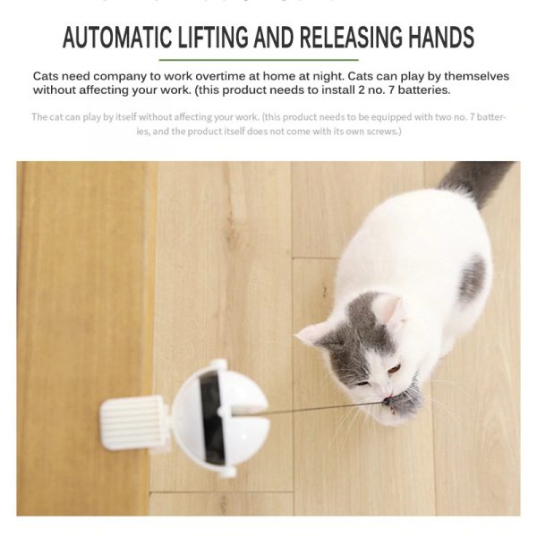 Cat Interactive Automatic Lifting Ball Toy