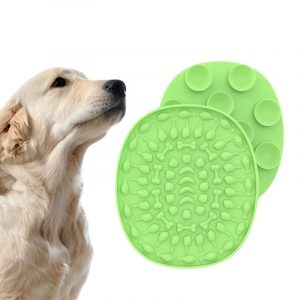 Dog Slow Food Plate Bathing Distraction Silicone Licking Mat