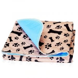 Dog Reusable Pad Bed Non-Slip Fast Absorving Pee Mat