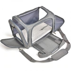 Pet Carrier Backpack Carrying Box Airline Approved Travel Bag