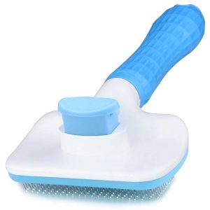 Pet Self Cleaning Brush Slicker Hair Grooming Massage Particles