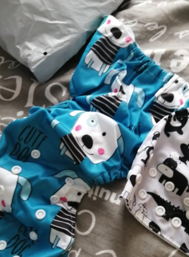 Baby Cloth Diaper Reusable Adjustable Washable photo review