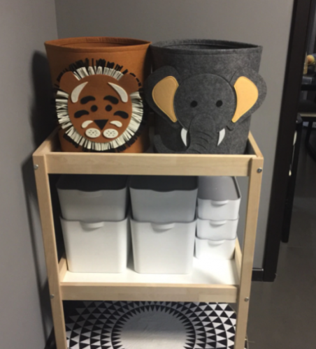 Baby Laundry Storage Basket photo review