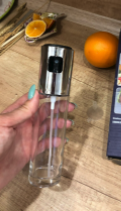 Oil Sprayer Bottle For Cooking Bottle Pump Stainless Steel photo review