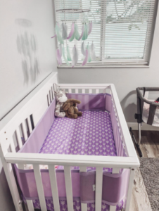 Baby Crib Liner Safe Non-Padded Breathable Mesh Crib Liner photo review